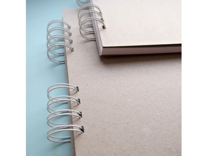 Hurá Papír - 24 x 21  cm -  album, deník, blok; bílé listy