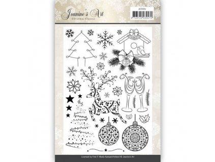 Jeanines Art - CHRISTMAS CLASSICS - silikonová razítka