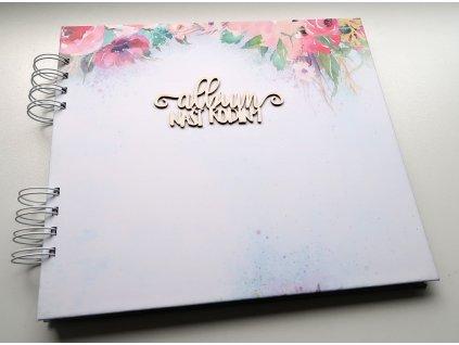 Hurá Papír - album 21 x 24 cm / bílé čtvrtky