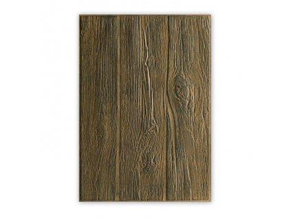 Sizzix - dřevo / 662718 - 3 D embosovací kapsa