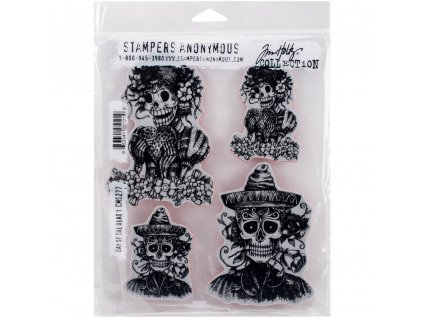 Stampers anonymous / Tim Holtz - DAY OF THE DEAD - cling gumová razítka