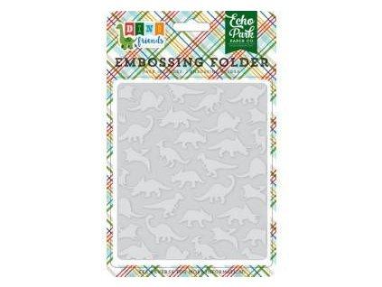 dinosaurs embossing folder echo park df102031