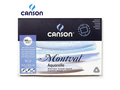 Freeshipping France Canson montval 10 5x15 5cm 180g 12P watercolour Aquarelle sealing the watercolor paper Postcard.jpg 640x640