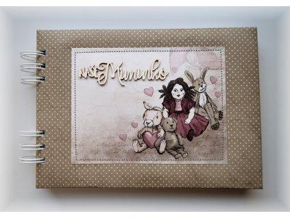 Hurá Papír - dětské album A5 / NAŠE MIMINKO, holka
