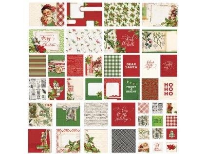 Simple Stories - SIMPLE VINTAGE CHRISTMAS -  sada vánočních kartiček