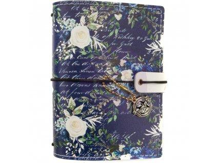 "Prima Marketing - GEORGIA BLUES / PASSPORT SIZE / 4.2 x 5.3"" - traveler´s notebook - obal"