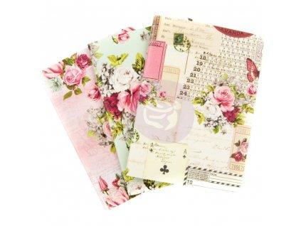 Prima Marketing - MISTY ROSE / PASSPORT SIZE / 9 x 12,5 cm - 4 sešitky