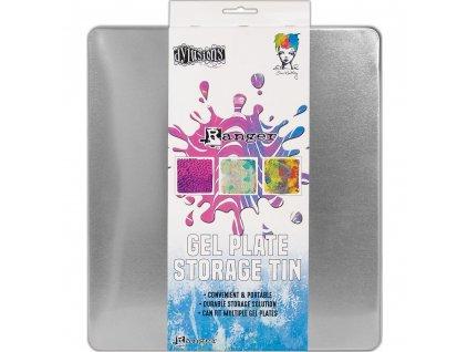 Dylusions - STORAGE TIN / GEL PLATE - kovový obal na gelové podložky
