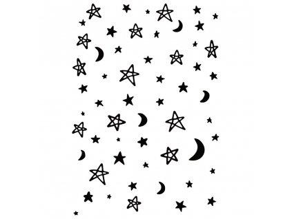 Kaisercraft - MOON & STARS - embosovací kapsa