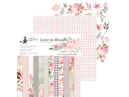 pol pl Zestaw papierow 30x30 Love in Bloom Piatek Trzynastego 108689 1