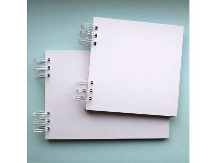 Hurá Papír - A5 / 14,8 x 21 cm -  kartonové album, bílé čtvrtky