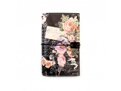 """Prima Marketing - WINTAGE FLORAL / PERSONAL / 4,5 x 7,5"""" - traveler´s notebook - obal"""