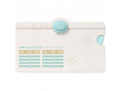 We R - MINI ENVELOPE PUNCH BOARD - mini podložka na tvorbu obálek