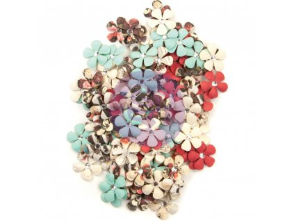 Prima - Midnight Garden Mulberry - papírové kytky