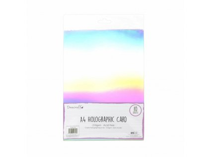 dovecraft holographic card a4 dcbs170