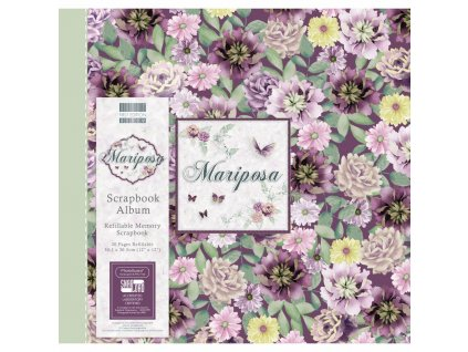 first edition mariposa 12x12 inch album flowers fe