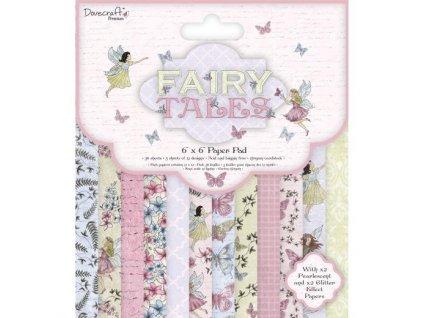 dovecraft premium fairy tales fsc 6 x 6 paper pad 21020263 0 1545316371000