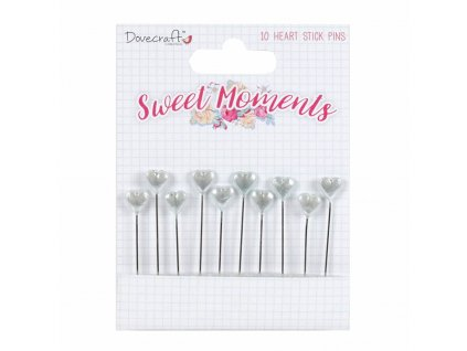 dovecraft sweet moments stick pins 10pcs dcpin003