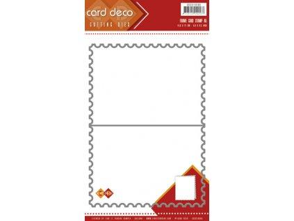 Card Deco - FRAME CARD A5 - vyřezávací šablona na přáníčka