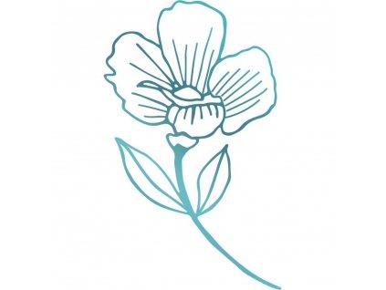 COUTURE CREATIONS - HOTFOIL STAMP / PRIMROSE FLOWER - kovové razítko, kytka