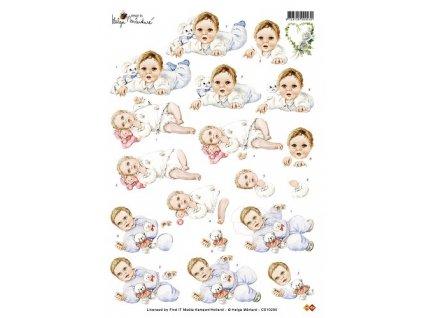 Studio Martare - BABY - dětské obrázky na vystřihování