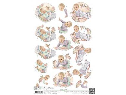 Amy Design - BABY 1 - dětské obrázky na vystřihování