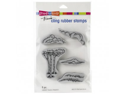Stampendous - SCENIC MEADOW SET - cling razítka
