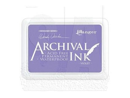 wendy vecchi archival ink pad violet aid45687