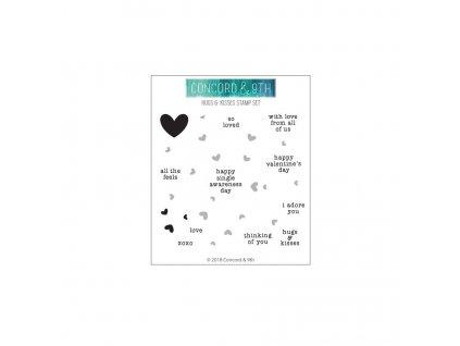 Hugs Kisses Stamp Set web ready V2