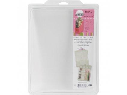 """Stampendous - THICKER STUFTAINERS 1"""" / 22 x 28,4 x 2,5 cm - plastový box na dřevěná razítka"""