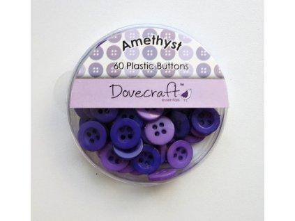 Dovecraft - AMETHYST - knoflíky