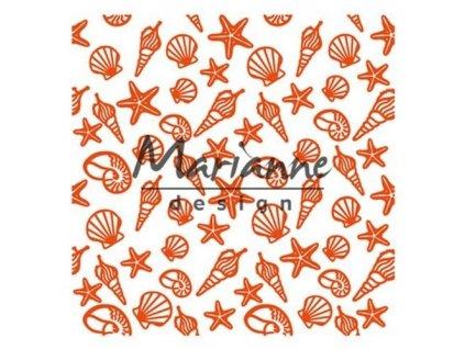 marianne d embossing folder zeeschelpen df3448 141x141 mm 06 18 46694 1 g 1