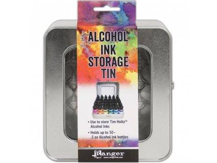 Ranger - ALCOHOL INK STORAGE TIN - organizér na alkoholové barvy