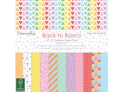 dovecraft back to basics over the rainbow 12x12 in