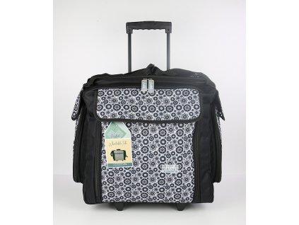 Card Deco - Wheelable Tote - látkový kufr na kolečkách