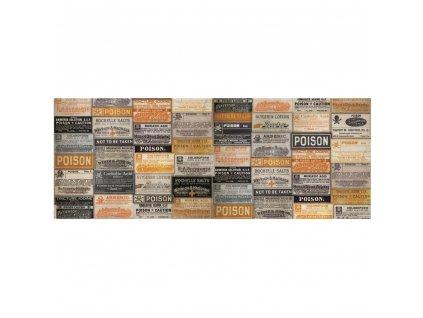 Ranger / Tim Holtz - COLLAGE PAPRE HALLOWEEN - poloprůhledný papír vhodný na dekupáž