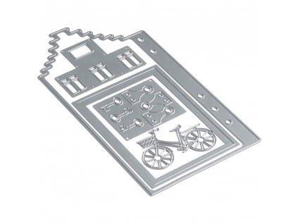 Elizabeth craft designs - 1679 / PLANNER / HOME - vyřezávací kovová šablona