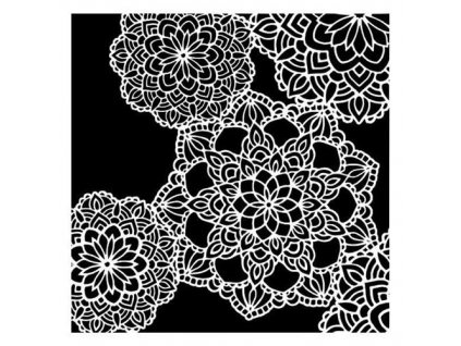 stencils 13 rts on the wall doilies by olga heldwein