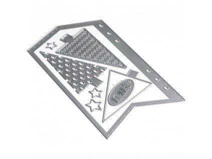 Elizabeth craft designs - PLANNER A5 / 1673 / ARROW PAGE - vyřezávací kovová šablona