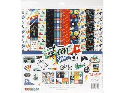 "Echo Park - TEEN SPIRIT BOY - 12"" kompletní scrapbooková sada"