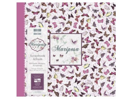 first edition mariposa 12x12 inch album butterfly