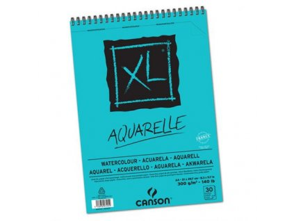 canson xl watercolour 30 sheets 300 gsm a4 size