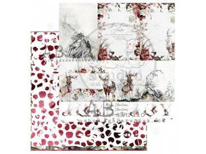 scrapbooking paper breeze of the forest sheet 5 12 x12