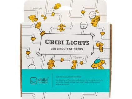 Chibi Tronics - STEM Starter Kit - velká sada - světýlka do přáníček