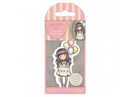 gorjuss collectable mini rubber stamp no73 i wish