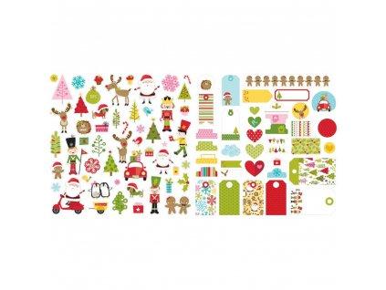 BELLA BLVD - SANTA SQUAD - vánoční obrázky