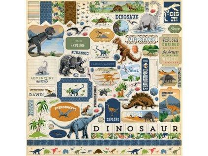 cbdi110014 dinosaurs element sticker