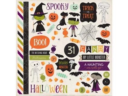 HT133014 Halloween Town Sticker