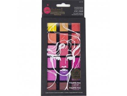 Jane Davenport - PALETTE PASTEL / LIT UP - 18 barevných odstínů