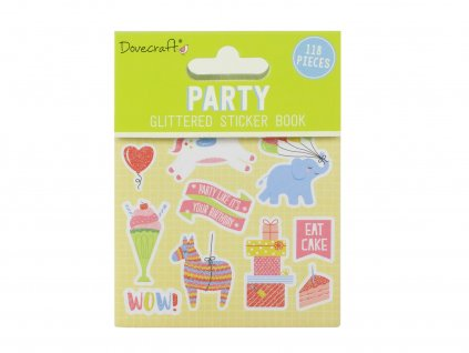 dovecraft party sticker book dcstb007